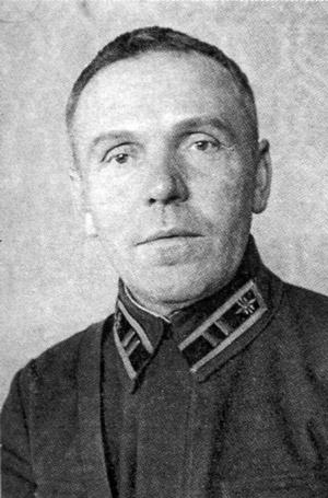 Заводчиков Петр Алексеевич. Фото 1941 года