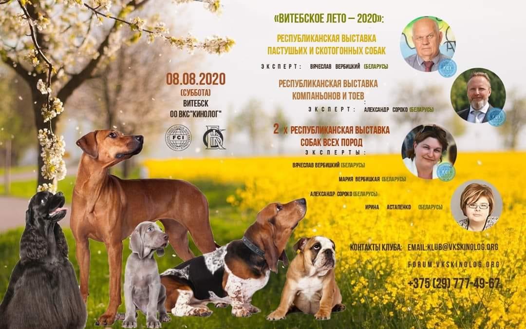 Республиканская выставка собак всех пород