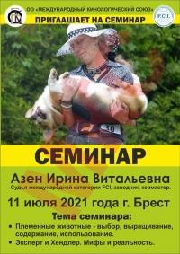 Семинар с Азен Ириной Витальевной